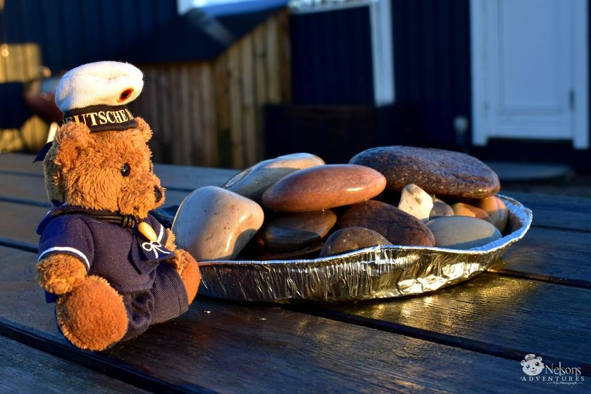 Nelson watches the sunrise NelsonsAdventures Teddy Teddy Bear Teddybear Stuffed Toy Golden Hour Close-up Morning Nørre Lyngvig Summer Nikon Denmark Denmark 🇩🇰 EyeEm Nature Lover EyeEm Masterclass Toy Stuffed Toy Pebbles Pebbles And Stones Table Enjoying Life Enjoying The Sun Hygge Lifestyles Photo Series