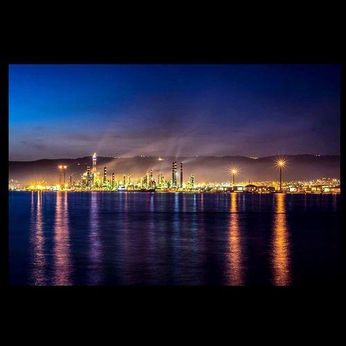 Ismailbalıphotography Long_exprosure Night Oil Rafinery Tüpraş Korfez Manzara Landscape Nikon Grafimx Nikontop Nikonofficials Nikon_türkiye Nikon_turkey
