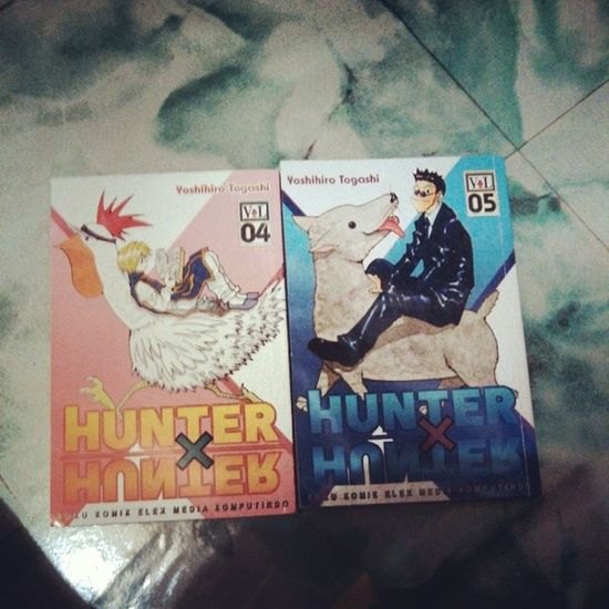Koleksi Terbaru! Yeyey!!! Hunterxhunter Manga Komik