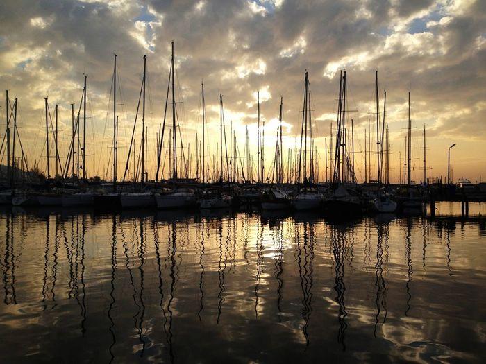 Going Sailing Sailing Sunset #sun #clouds #skylovers #sky #nature #beautifulinnature #naturalbeauty #photography #landscape