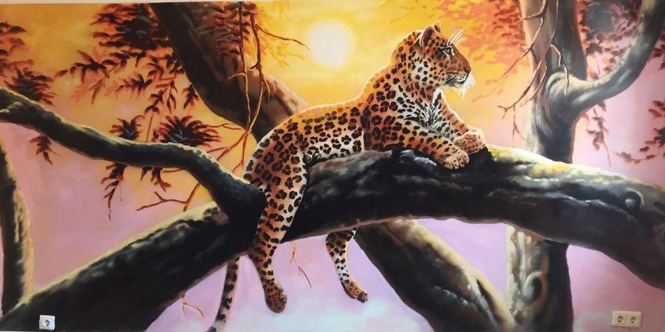 Home Graffiti Butterfly Leopard