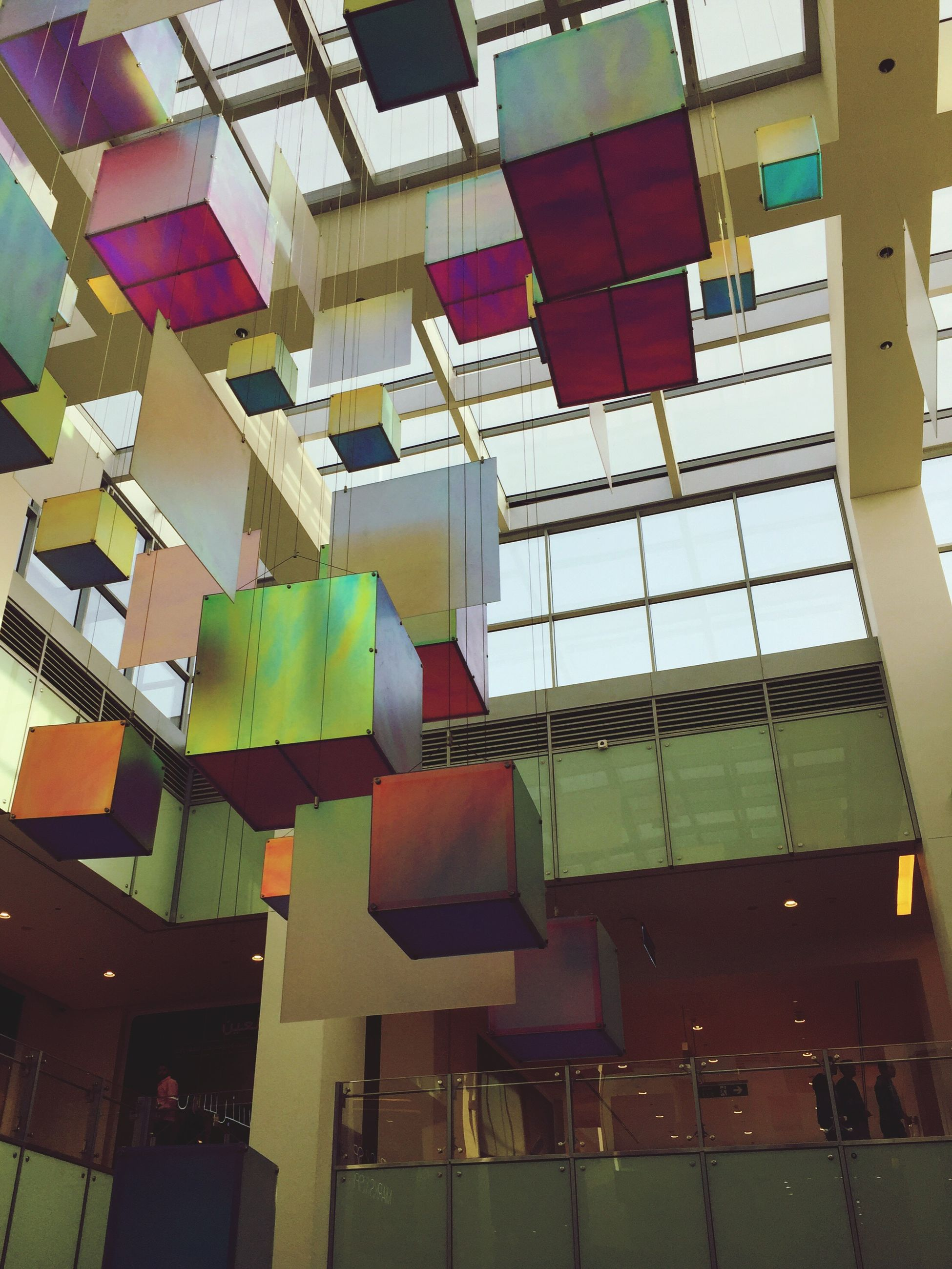 built structure, multi colored, architecture, no people, day, indoors