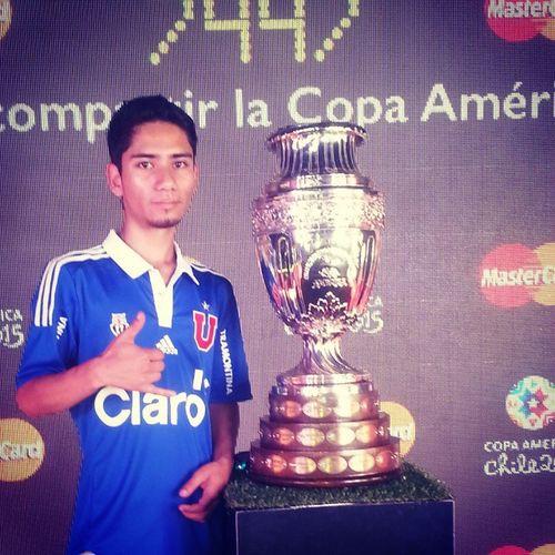 Copamerica2015 Copamerica2015 LaSerena Udechile TrophyTour mastercardtropytour uch azulesoficial chile bullanguero ldea losdeabajo