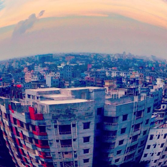 Higher Place FishEyeEm Fisheye GandariaCity Gandaria Dhaka