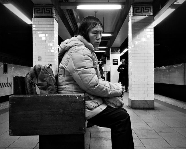 Canal St, Chinatown Blackandwhitephotography Streetphoto_bw EyeEm Best Shots - Black + White Street Life Newyorkcity Everybody Street Youmobile Shootermag_usa ShotoniPhone6s New York ❤ Showcase April Everybodystreet Candid This Week On Eyeem Portrait IPhoneography Up Close Street Photography