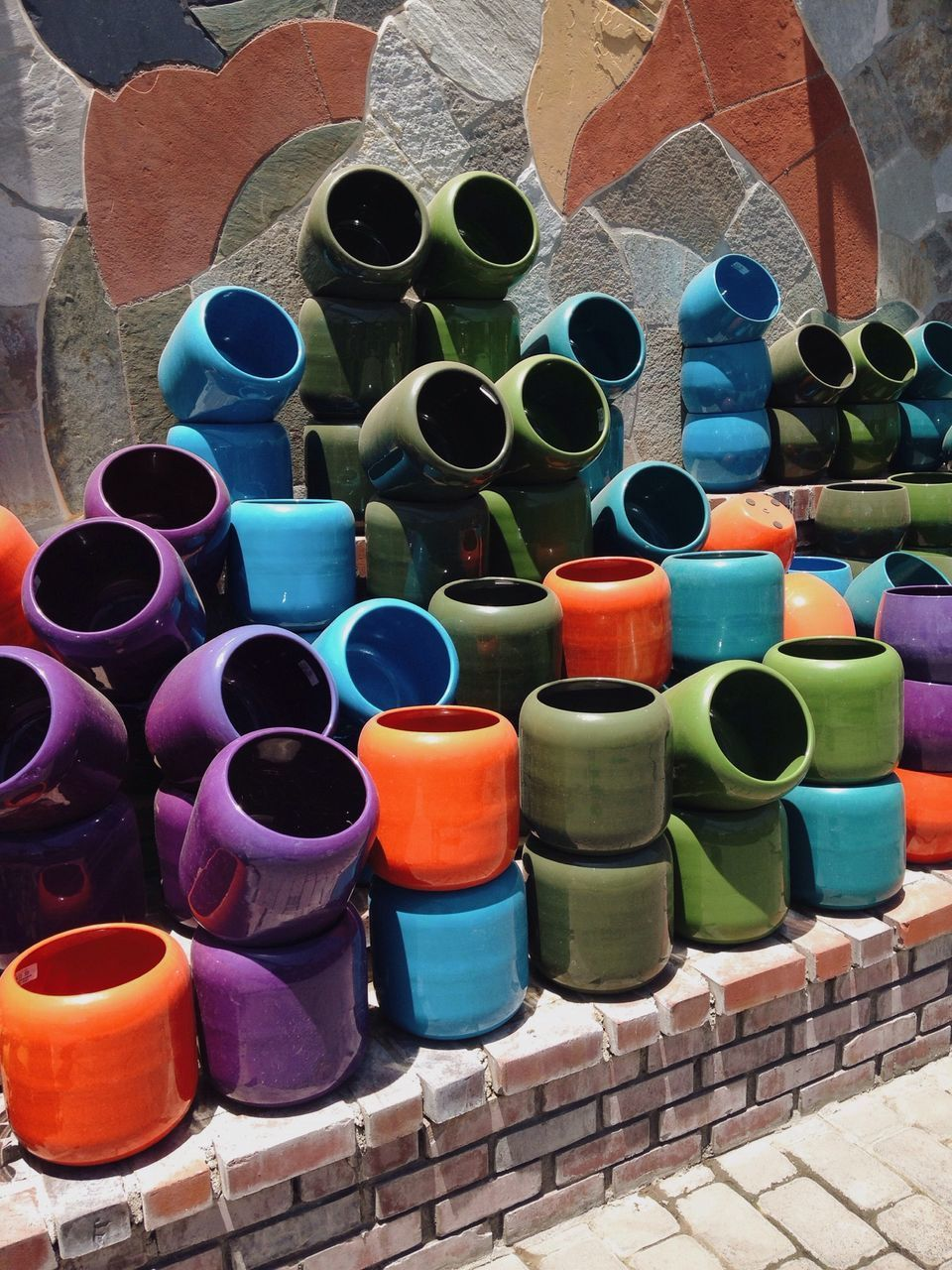 large group of objects, arrangement, multi colored, in a row, abundance, variation, side by side, order, choice, repetition, colorful, retail, collection, outdoors, day, no people, full frame, backgrounds