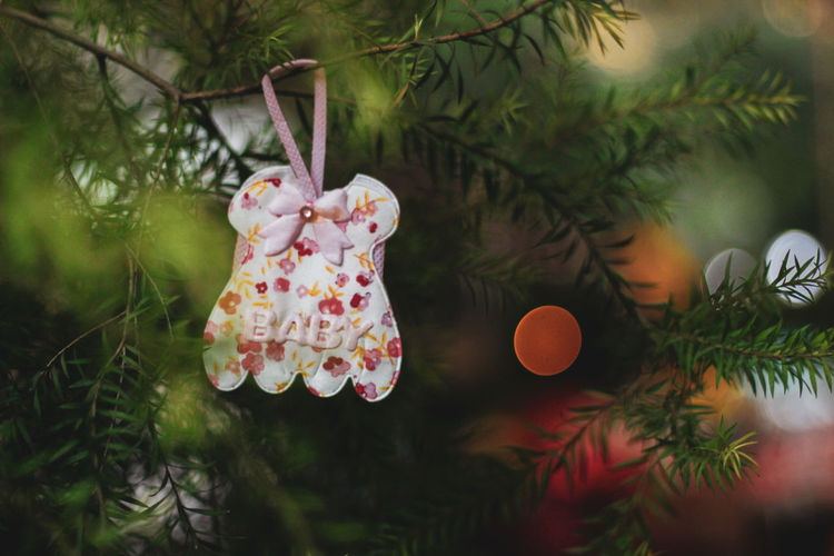 baby Baby Baby Shower Baby Decoration New Born Tree Branch Christmas Hanging Christmas Decoration christmas tree Close-up