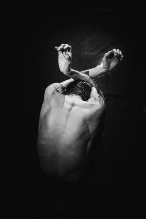 Black Swan Dance Hands Bowns Dance Floor Human Body Part Indoors  Nüde Art.