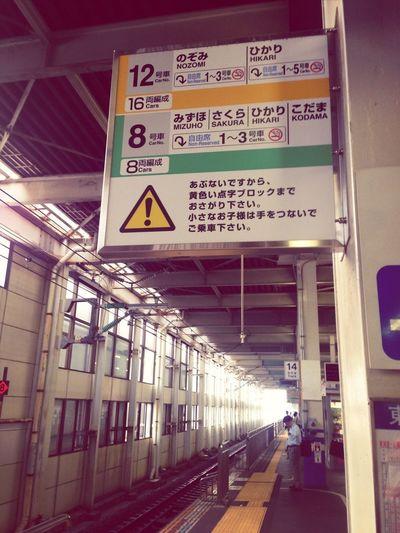 出張で大阪に行く。 桑田佳祐の「 大阪レディ・ブルース 」が頭の片隅でよみがえる。 ホームに立つと、なぜか背筋が伸びる気がしてくるから不思議だ。 ホームのサインをふと見上げると、新幹線の名前は、すべて三文字なんだと気づき、何だかすごい発見をした気分になる。