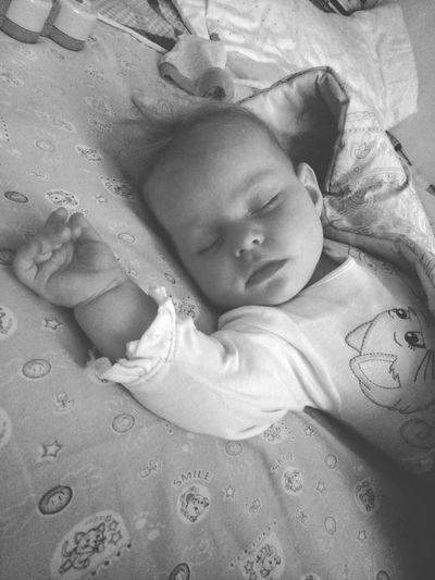 Maru Newborn New Life Sand Cute Sleeping Baby