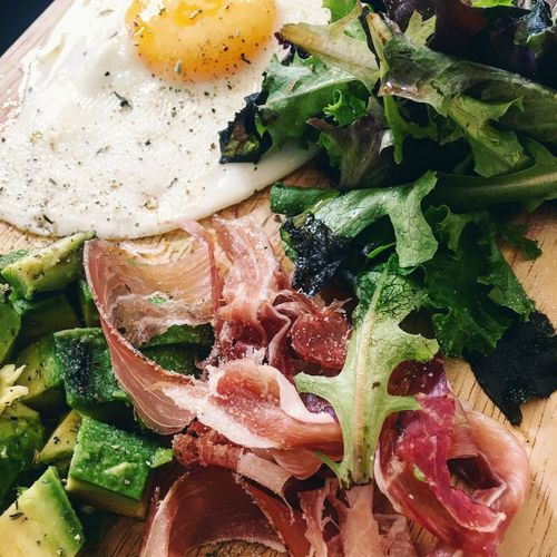 One of my Favorite Meal 😋 Avocado Egg Salad Ham Food Food And Drink Foodporn Healthy Eating Freshness Homemade Homemade Food Wood Wood - Material Wooden Wood Plates Lunch Lunch Time! Lifestyles Pornfood Food Porn Foodphotography Food Photography Avocados