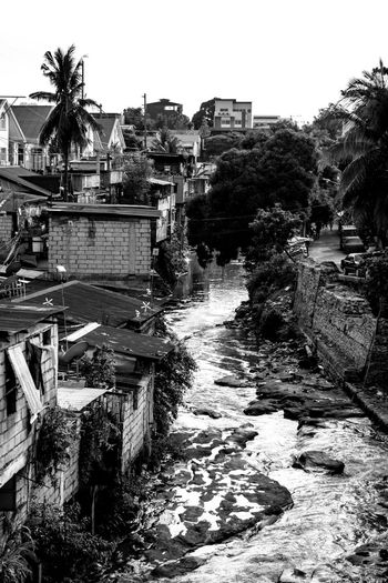 River in the City Black And White Eye4photography  EyeEm Gallery Eyeem Philippines Residential Structure River Riverscape Street Photography Streetphoto_bw The Street Photographer - 2016 EyeEm Awards Urban Landscape Urbanphotography