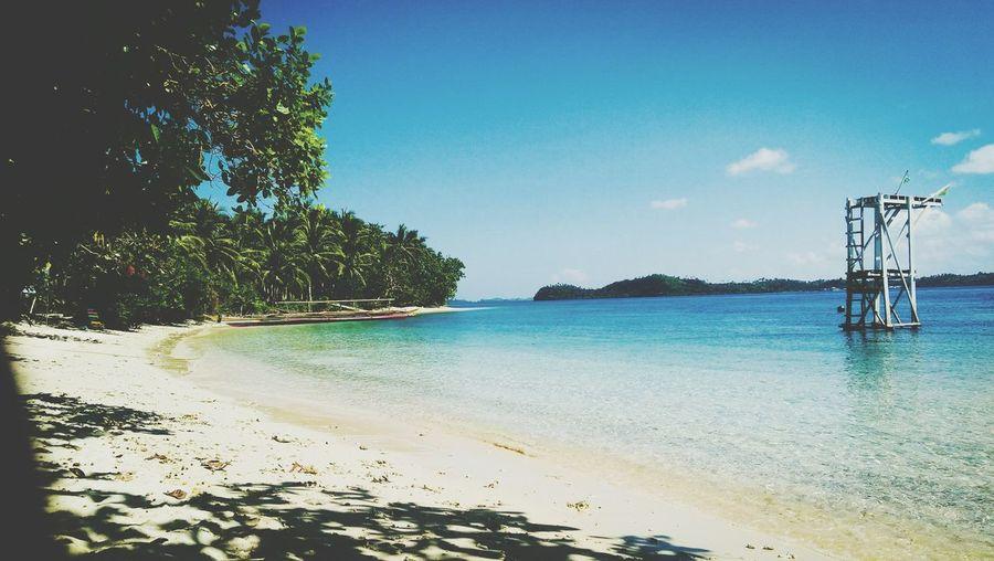 Tabok Beach 😘 Tree Water Sea Beach Sand Sky Horizon Over Water First Eyeem Photo
