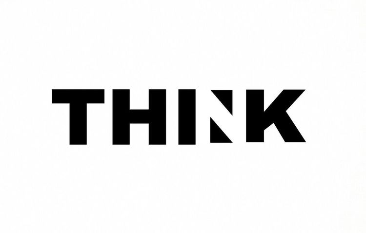 Typography Typography & Design Typography Art Typography Design Negative Space Think Black And White EyeEmNewHere Black And White Photography No Edit No Fun