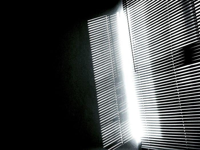 Sunshine Courtain Backlight Startofmyday Black And White