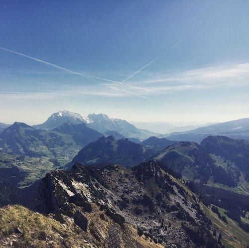 No People Mountain Range Mountain View Outdoors Peak Mountains Switzerland