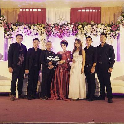 Wedding Gigs w/ Suitcase Music Organizer Bandung Band Weddingband Gathering Event Bhismamoo Keyboard
