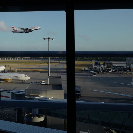 After two coffees and a wait of 45 mins I caught Britishairways A380 flying into the sunshine filling a window inTerminal5 atLondonheathrowairport before catching my fight toDublin, Ireland d Taken with LEICA Q Q LEICA Q Typ116 Leica_camera