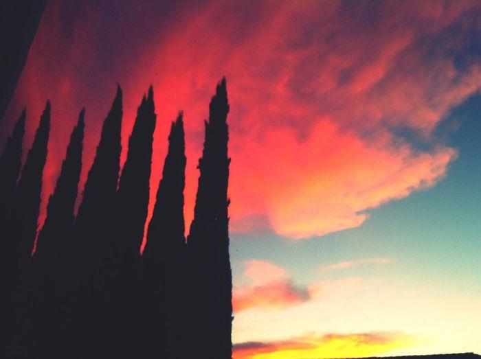 Beautiful Sky Sky Sunset...
