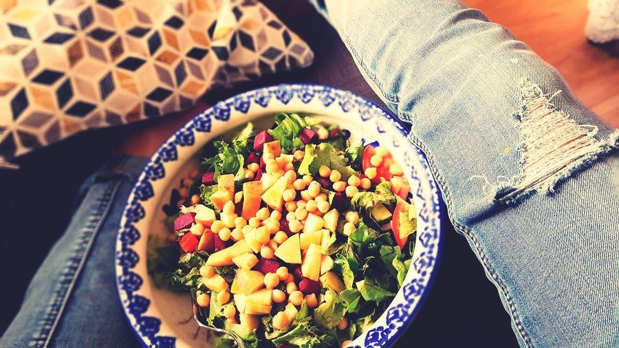 Food salad in bowl