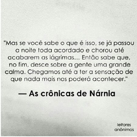 Mas sempre acontece ... TheChroniclesOfNarnia Cslewis Goodnight