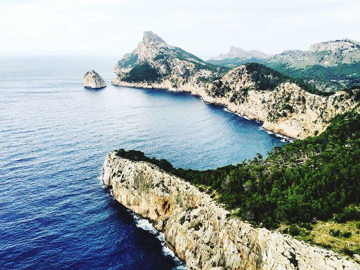 Mallorca Seaview Seaviewcollection Roadtrip View Hello World SPAIN Spain ✈️🇪🇸 Balearicislands