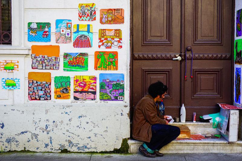 Colour Of Life Valparaíso, Cerro Alegre