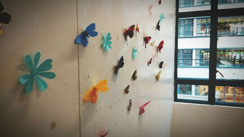 Pmq Hanging Out Colorful Butterfly Art Piece Wonderful Day