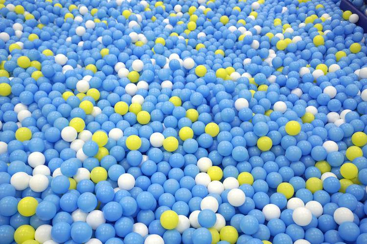 Full frame shot of balls