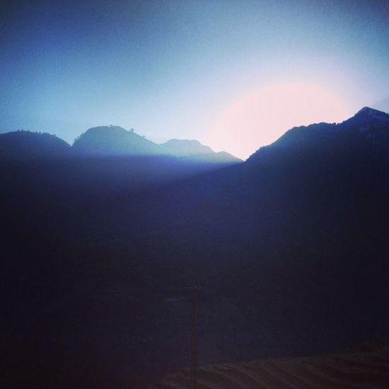 Sapa, Vietnam Mountains Light Ray