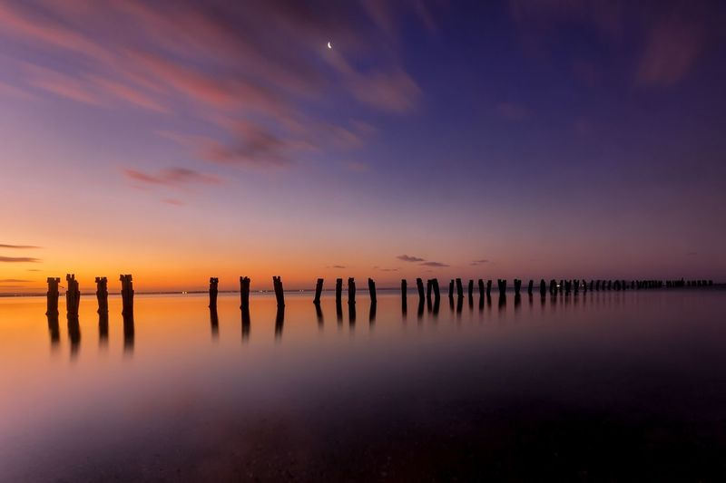 Clifton Springs Melbourne Australia Sunset Sunset_collection Water Reflections Long Exposure Capture Tomorrow
