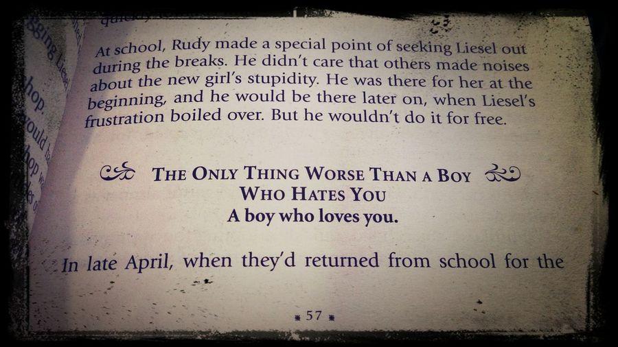 Thebookthief Love Book Reading