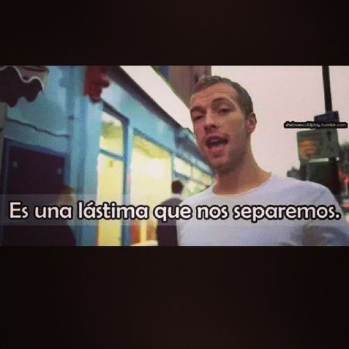 Chris Coldplay Thescientist ?♡ Bellisima AROBTTH
