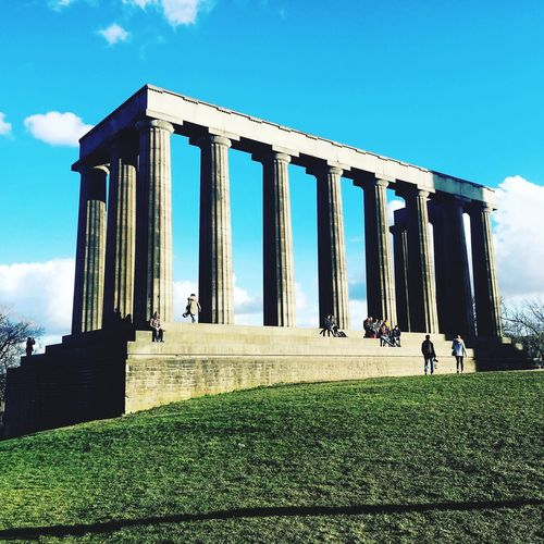 Carlton Hill Built Structure Architecture Architectural Column Edinburgh