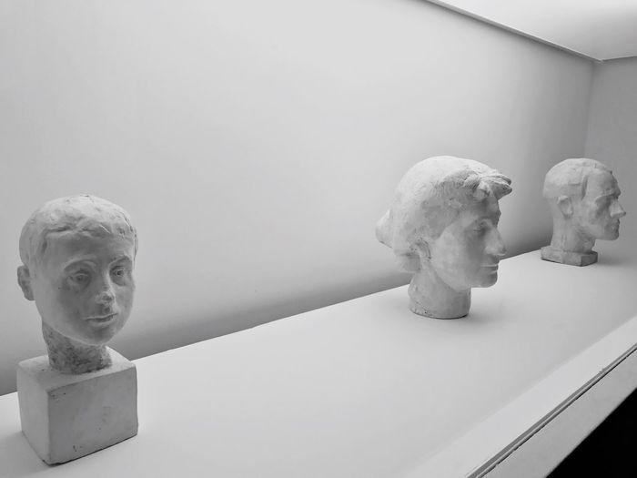 Human Representation Male Likeness Sculpture Art And Craft Statue Bust  No People Female Likeness Figurine  Niche Indoors  Fine Art Statue Day