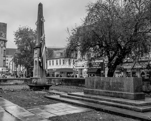 War Memorial, Wood Hill, Northampton Northampton Monochrome Monochrome Photography FUJIFILMXT2 FUJIFILM X-T2 Black And White Armistice ArmisticeDay Remembrance War Memorial