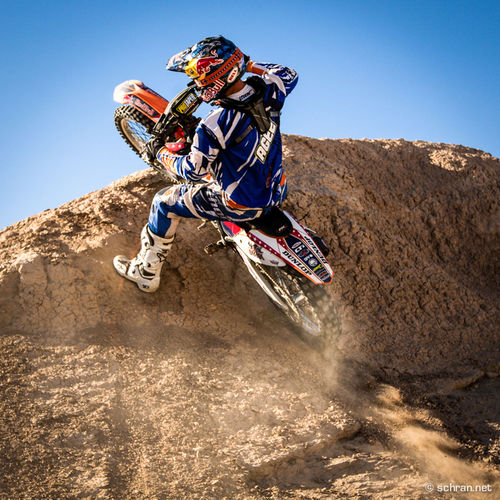 #metalmulisha trooper @wes_agee going for a #footplant 180 in #ocotillo. If you wanna see that move & more of the #redbull athlete in motion copy this link: redbull.com/motosoul/agee, hit enter & the lastest story about the #ktm rider will pop up. #motosoul Faction Audiovisu Fitzarmi Footpath Free Lonely Metal Mulisha Moto Ocotillo Wells Our Game Against Wesson Red Red Bull