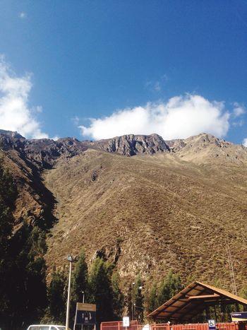 Peru Montain  Enjoying Life Relaxing Sky Taking Photos Ollantaytambo - Peru