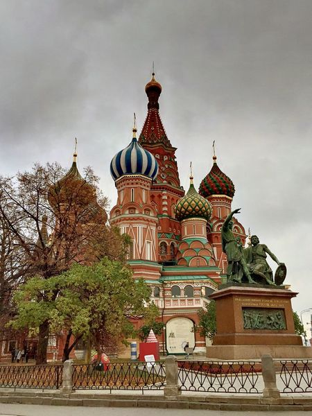 Architecture Built Structure IPhoneography Moscow Red Square St. Peters Cathedral Travel Destinations HDR