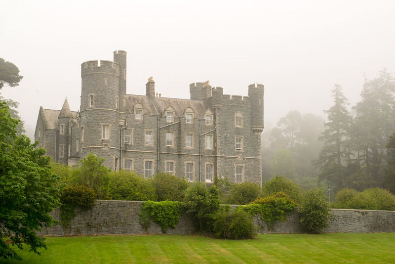 Mist Beauty In Nature Tranquility Architecture Built Structure Building Exterior History Castle No People Outdoors Scenics