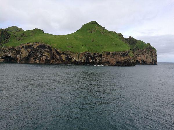 Iceland Islandia Island Westman Island Vestmannaeyjar Heimaey Ferry Suðurland Sea Mountain Archipelago Island