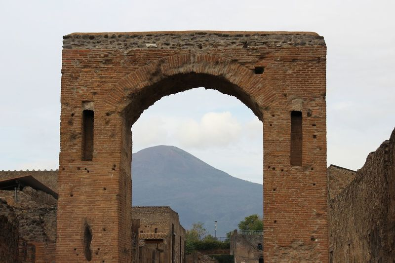 Pompeii Ruins Roman Ruins Vesuvio Mountain Tadaa Community Picoftheday Amazing View UNESCO World Heritage Site Old Ruin History Ancient Arch Architecture Built Structure Close-up Archaeology Ruined Civilization Ancient History