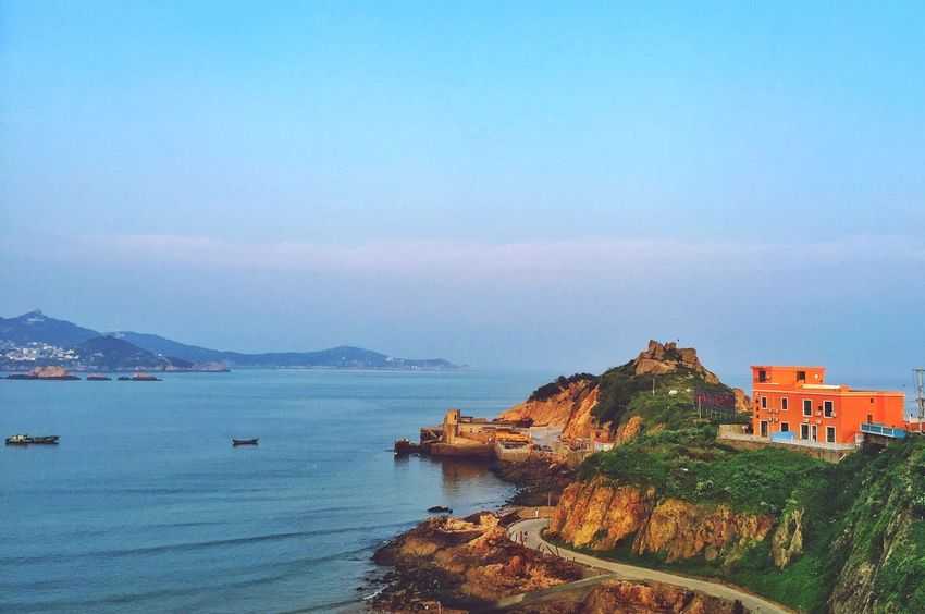Traveling Taking Photos Zhejiang Province From My Point Of View My Traveling Photography Seascape Sea And Sky Sea And Mountain Peace And Quiet Peace
