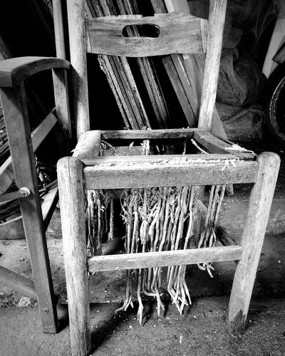 Angry Chair The Week Of Eyeem Black & White Straw Chair Chair Imperfection Past Old Chair Old Chair Bringing Back Memories