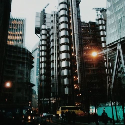 Lloyd's of London, in Vscocam VSCO M5