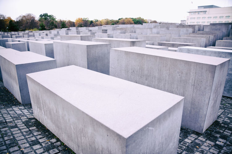 Architecture Built Structure Cemetery City Day Discover Berlin Memorial No People Outdoors Sky Tree