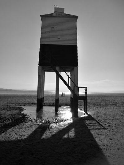 Burnhamonsealighthouse Burnham On Sea Light And Shadow Lighthouse Beachwalk Beach Hanging Out Sunnyday☀️ Summertime Longwalks Enjoying Life Longshadows Beachphotography Seaside