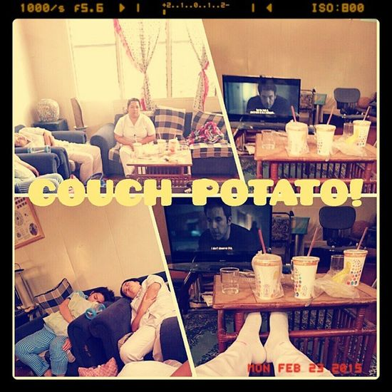 COUCH POTATO! Chillaxmode Offduty Moviemarathon Gonegirl Coolfellas MasterRajMansion Aviary