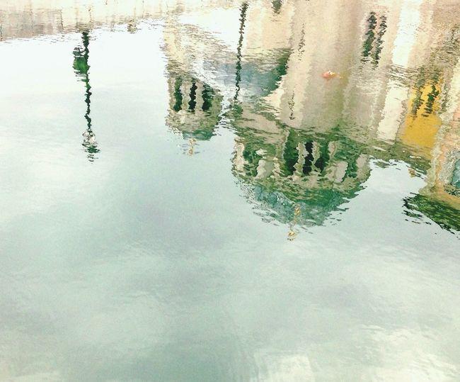 San Spiridione si specchia in Canal Grande Taking Photos Enjoying Life TriesteSocial