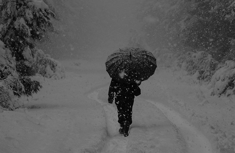 Winter mood.. Beauty Of Winter Freezing Cold Weather Wintertime Cold Temperature Extreme Weather Pathway Real People Snow Snowing Walking Warm Clothing Winter